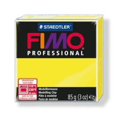 "Gyurma, 85 g, égethető, FIMO ""Professional"", sárga"