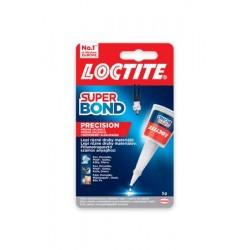 "Pillanatragasztó, 5 g, HENKEL ""Loctite Super Bond Precision"""