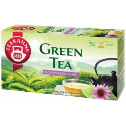 Zöld tea, 20x1,75 g, TEEKANNE, echinacea-lime