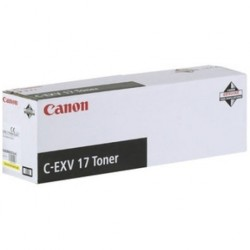 Canon iRC4580 Toner Yellow CEXV17 (Eredeti)