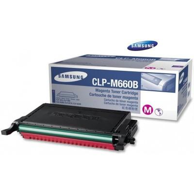 Samsung CLP 610/660B Magenta Toner 5K (Eredeti) CLP-M660B/ELS (ST924A)