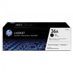 HP CB436AD Toner Black 2x2k No.36AD (Eredeti)
