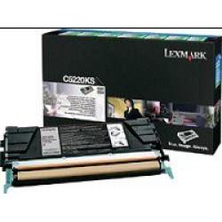 Lexmark C52x,53x toner, Black. 4K C5220KS (Eredeti)