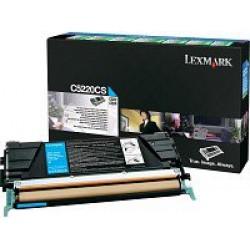 Lexmark C52x,53x toner, Cyan 3K C5220CS (Eredeti)