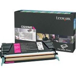 Lexmark C52x,53x toner, Magenta 3K C5220MS (Eredeti)