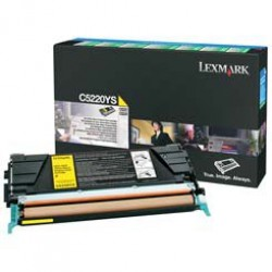 Lexmark C52x,53x toner, Yellow 3K C5220YS (Eredeti)