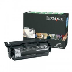 Lexmark X651 toner, 7K X651A11E  (Eredeti)