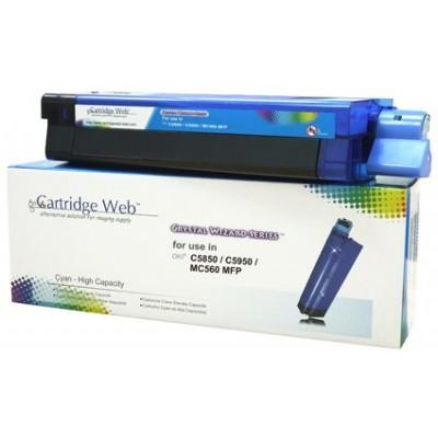 Utángyártott OKI C5850/C5950 Cartridge Cyan 6K (New Build) CartridgeWeb