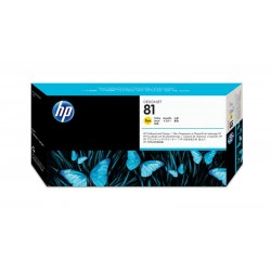 HP C4953A Pr.head Yellow  No.81 (Eredeti)