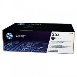 HP CF325X Toner Black 34,5k No.25X  (Eredeti)