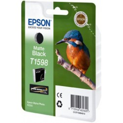 Epson T1598 Patron Matt Black 17ml (Eredeti)
