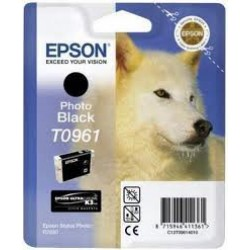 Epson T0961 Patron Photo Black 11,4ml (Eredeti)