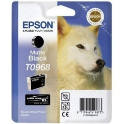 Epson T0968 Patron Matt Black 11,4ml (Eredeti)