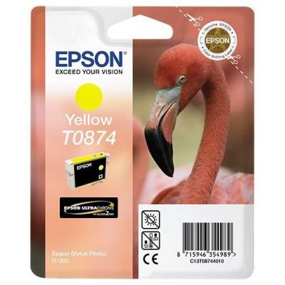 Epson T0874 Patron Yellow 11,4ml (Eredeti)