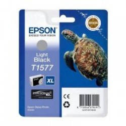 Epson T1577 Patron Light Black 26ml (Eredeti)
