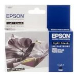Epson T0597 Patron Light Black 13ml (Eredeti)