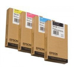 Epson T6128 Patron Matt Black 220ml (Eredeti)