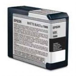 Epson T5808 Patron Matt Black 80ml (Eredeti)