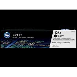 HP CE310AD Toner Black 2x1,2k No.126A (Eredeti)