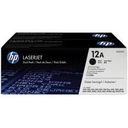 HP Q2612AD Toner Black 2x2k No.12AD /orig/ (Eredeti)