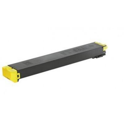 Utángyártott SHARP MX 36GTYA TONER YELLOW KTN FOR USE