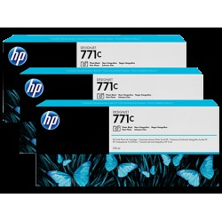 HP B6Y37A Patron PhBlack No.711C (Eredeti)