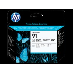 HP C9463A P.head Ph.Bk&L.Gr No.91 (Eredeti)