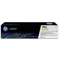 HP CE312A Toner Yellow 1k No.126A (Eredeti)