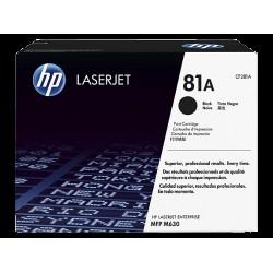 HP CF281A Toner Black 10,5k No.81A (Eredeti)