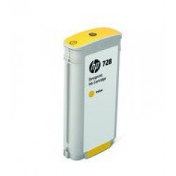 HP F9J65A Patron Yellow 130ml No.728 /orig/ (Eredeti)