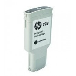 HP F9J68A Patron Matt Bk 300ml No.728 /orig/ (Eredeti)
