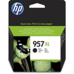 HP L0R40AE Patron Black No.957XL (Eredeti)