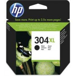 HP N9K08AE Patron Black No.304XL (Eredeti)