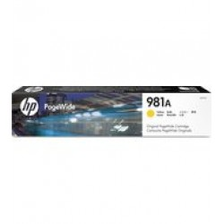 HP J3M70A Patron Yellow 6k No.981A  (Eredeti)