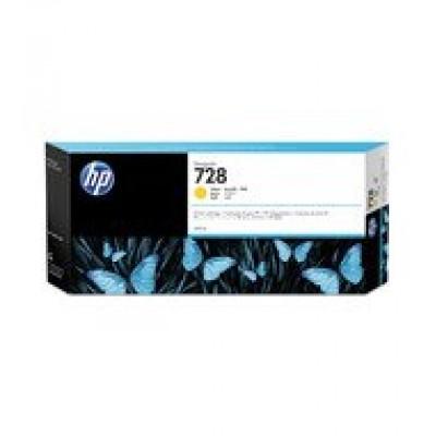HP No.728 300-ml Yellow InkCart F9K15A  (Eredeti)