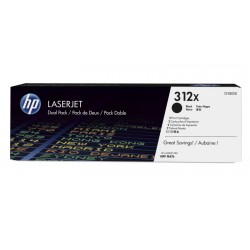 HP CF380XD Toner Black 2x4,4k No.312X (Eredeti)