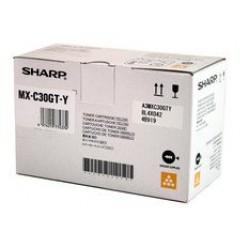 Sharp MXC30GTY toner Yellow (Eredeti)