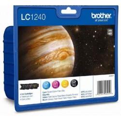 Brother LC1240 tintapatron csomag CMYK (Eredeti)