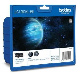 Brother LC1280 tintapatron Bk. 2 db(Eredeti)