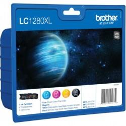 Brother LC1280 XL Tintapapatron csomag CMYK (Eredeti)