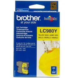 Brother LC980 tintapatron Yellow (Eredeti)