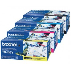 Brother TN135Y toner Yellow (Eredeti)
