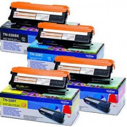 Brother TN328Y toner Yellow (Eredeti)