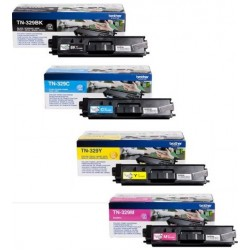 Brother TN329Y toner Yellow (Eredeti)