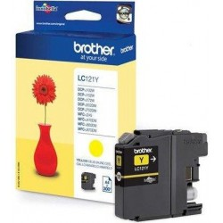 Brother LC121Y tintapatron Yellow (Eredeti)