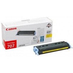 Canon CRG707 Toner  Yellow /o/ 2,5k