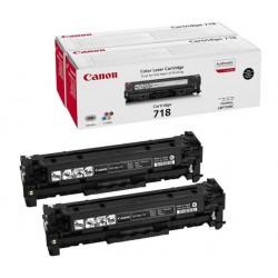 Canon CRG718 Toner Black  DUPLA /o/