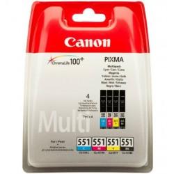 Canon CLI551 PatronMULTI C/M/Y/Bk /o/