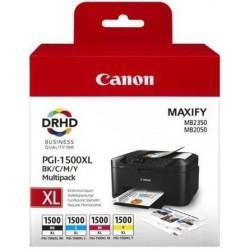 Canon PGI1500XL Multipack Bk/C/M/Y/o/