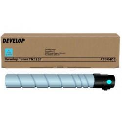 Develop ineo+454/+554 Toner Cyan TN512 /Eredeti/